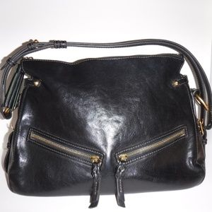 Dooney and Bourke black hobo shoulder bag